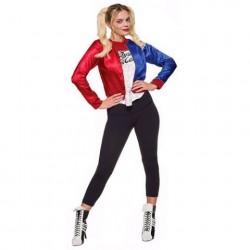 Fantasia Adulto Feminina Harley Quinn Importada Arlequina
