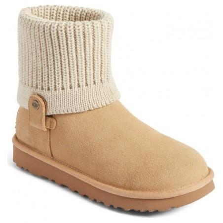 Bota Feminina Inverno Ankle Boot Camurça Marrom