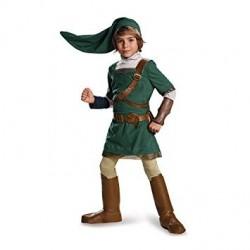 Fantasia Infantil Meninos Legend of Zelda Link Halloween Carnaval