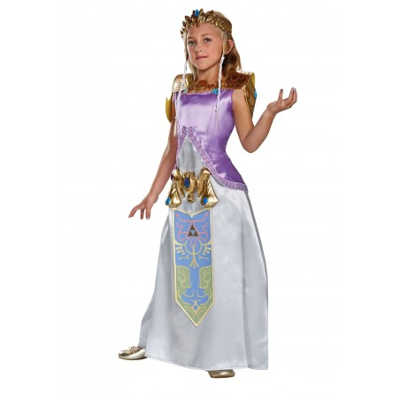 Fantasia Infantil Meninas Legend of Zelda Halloween Carnaval