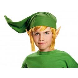 Fantasia Infantil Gorro Link Legend of Zelda Halloween Carnaval