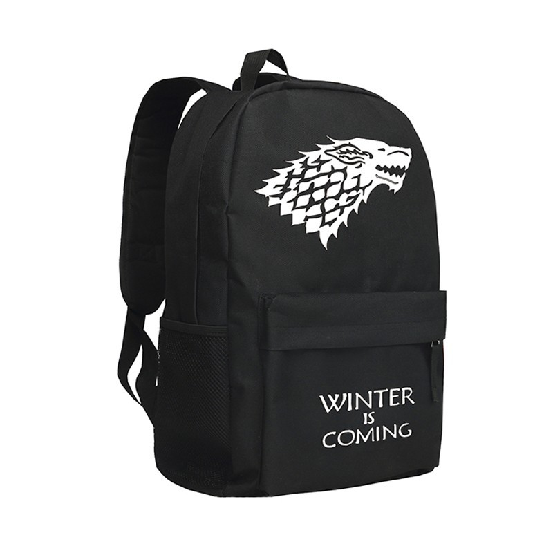 Mochila Game of Thrones Dragões Winter is Comming Geek