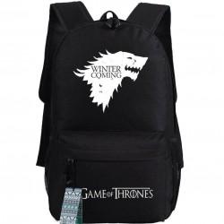 Mochila Game of Thrones Casa Stark O Inverno Está Chegando Geek