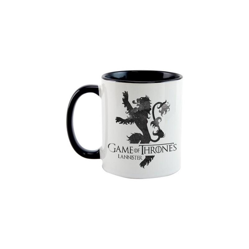 Caneca Cerâmica Game of Thrones Casa Lannister Geek
