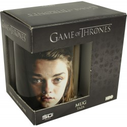 Caneca Cerâmica Aria Stark Game of Thrones Geek
