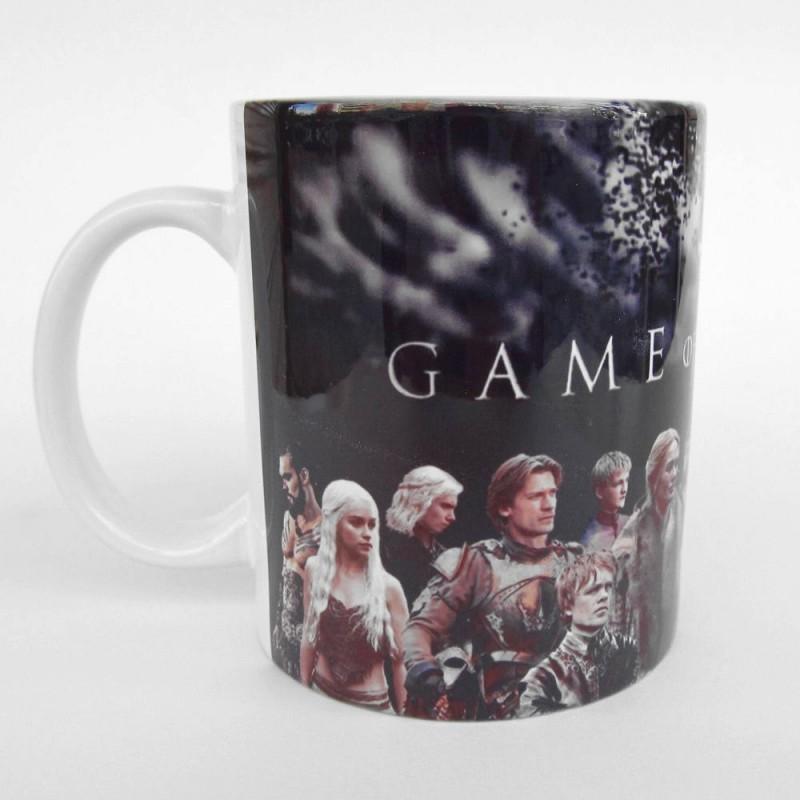 Caneca Cerâmica Personagens Game of Thrones Geek