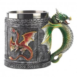 Caneca Cerâmica Dragões Game of Thrones Geek