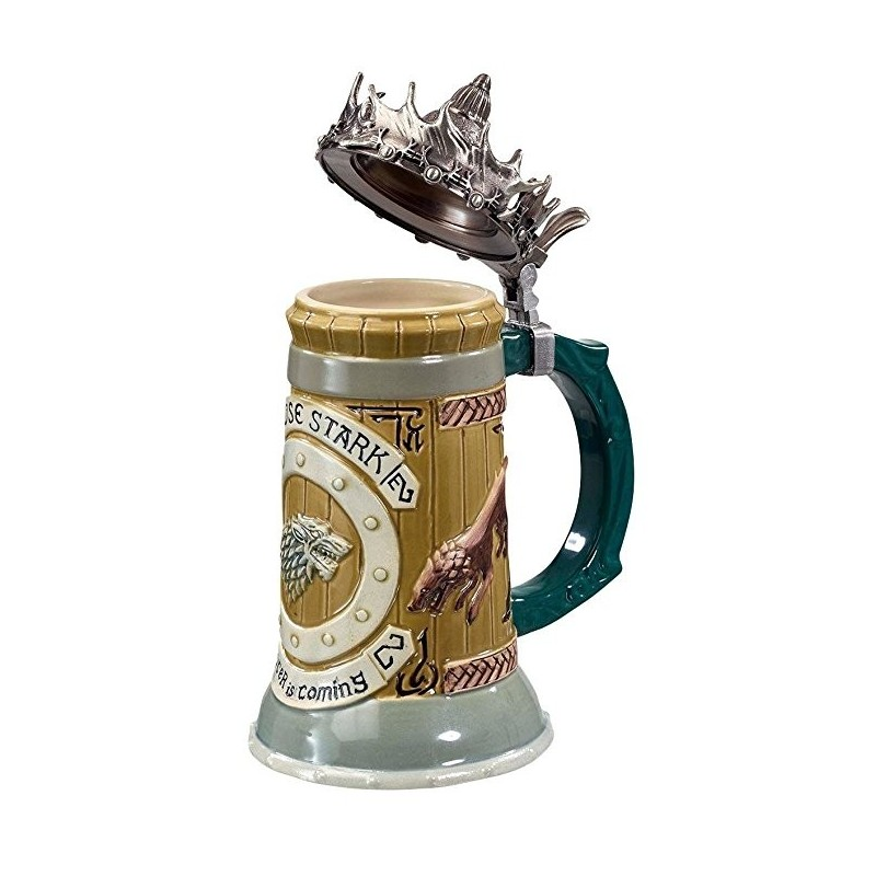 Caneca de Chopp Game of Thrones Casa Stark Geek