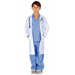 Fantasia Infantil Grey's Anatomy Médico Cirurgião Halloween Carnaval