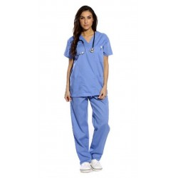 Fantasia Feminina Grey's Anatomy Médica Meredith Grey Halloween Carnaval