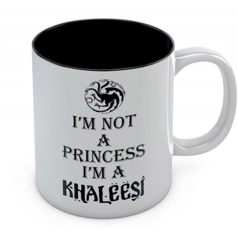 Caneca de Café Game of Thrones Khaleesi Daenerys Geek