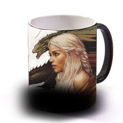 Linda Caneca de Café Game of Thrones Khaleesi Daenerys Geek