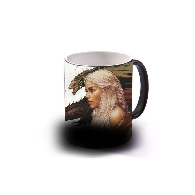 Linda Caneca de Café Game of Thrones Khaleesi Daenerys Geek