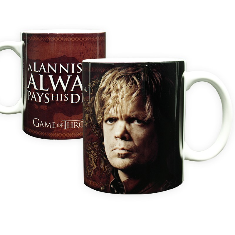 Caneca Porcelana Game of Thrones Tyrion Lannister Geek