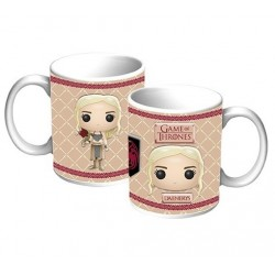 Caneca de Café Game of Thrones Daenerys Pop Vinyl Geek