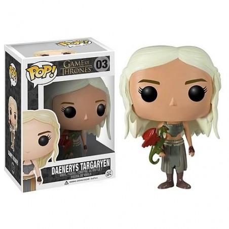 Boneco Funko Pop Vinil Game of Thrones Daenerys Targaryen Dragão Geek