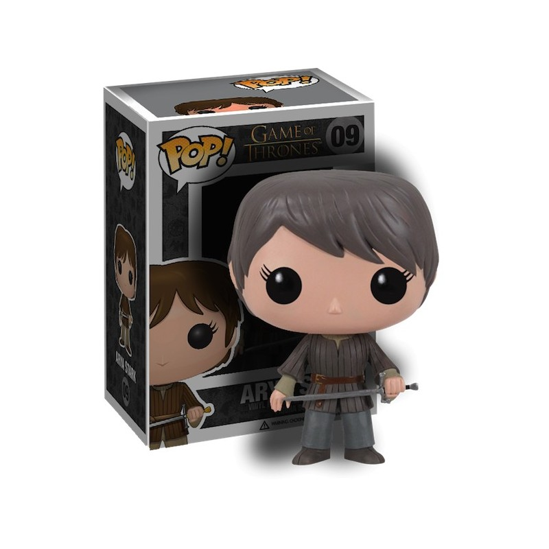Boneco Funko Pop Vinil Game of Thrones Arya Stark Geek