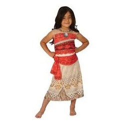 Fantasia Infantil Meninas Princesa Moana Disney Halloween Festa a Fantasia