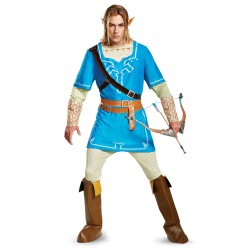 Fantasia Masculina Adulto Cosplay Link Legend of Zelda Halloween Carnaval Festa