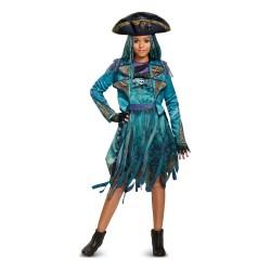 Fantasia Feminina Descendentes Uma Isle Disney Halloween Carnaval Festa