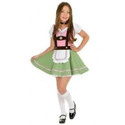 Fantasia Infantil Alemã Meninas Carnaval Halloween Festa