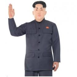 Fantasia Masculina Adulto Kim Jong Un Carnaval Festa Halloween Importada