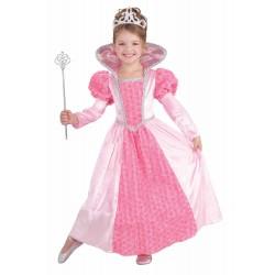 Fantasia Infantil Meninas Fada Madrinha Rosa Carnaval Festa Halloween Importado