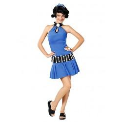 Fantasia Feminina Adulto Betty Os Flintstones Halloween Carnaval