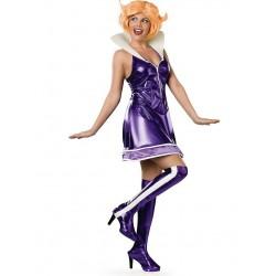 Fantasia Feminina Adulto Jane Jetson Os Jetsons Halloween Carnaval