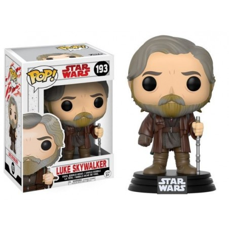 Boneco Figure Star Wars O Último Jedi Luke Skywalker Funko Pop Vinil Geek