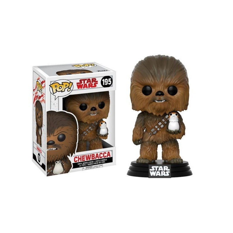 Boneco Figure Star Wars O Último Jedi Chewbacca Pop Vinil Geek