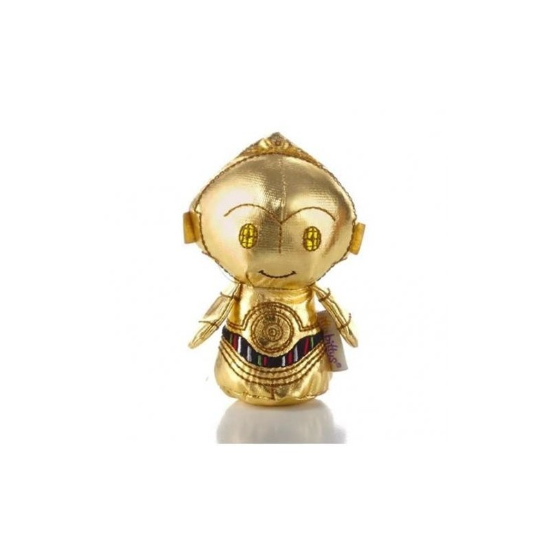 Boneco C3PO Star Wars Pelúcia Presente Geek