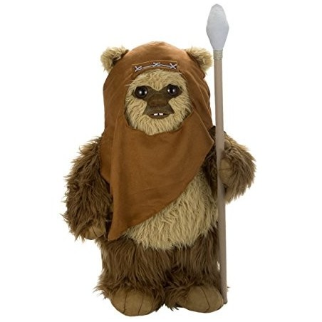 Boneco Pelúcia Wicket Star Wars Presente Geek