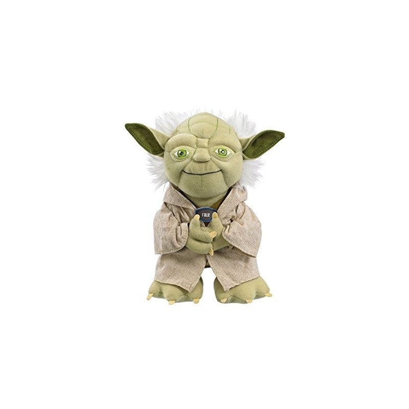 Boneco de Pelúcia Mestre Yoda Star Wars Anti-alérgico Importado