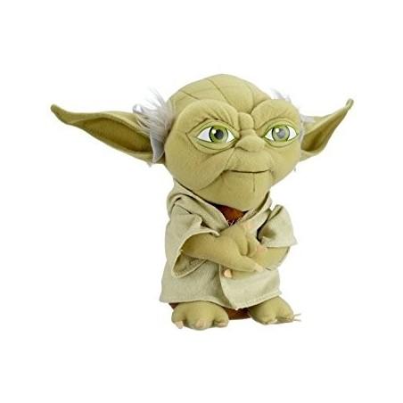 Boneco de Pelúcia Mestre Yoda Filmes Star Wars Anti-alérgico Importado