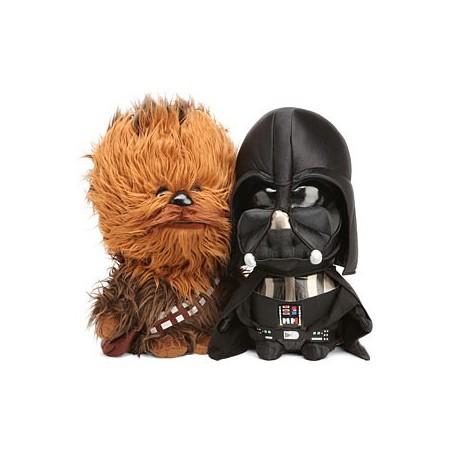 Bonecos de Pelúcia Star Wars Chewbacca Darth Vader Geek