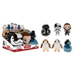 Kit Mini Bonecos Star Wars O Último Jedi Pelúcia Presentes Geek