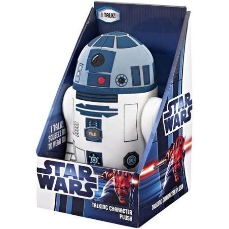 Boneco de Pelúcia R2-D2 Fala Star Wars Presente Geek Importado