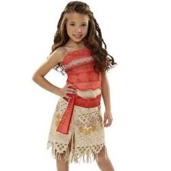 Fantasia Infantil Moana Carnaval Halloween