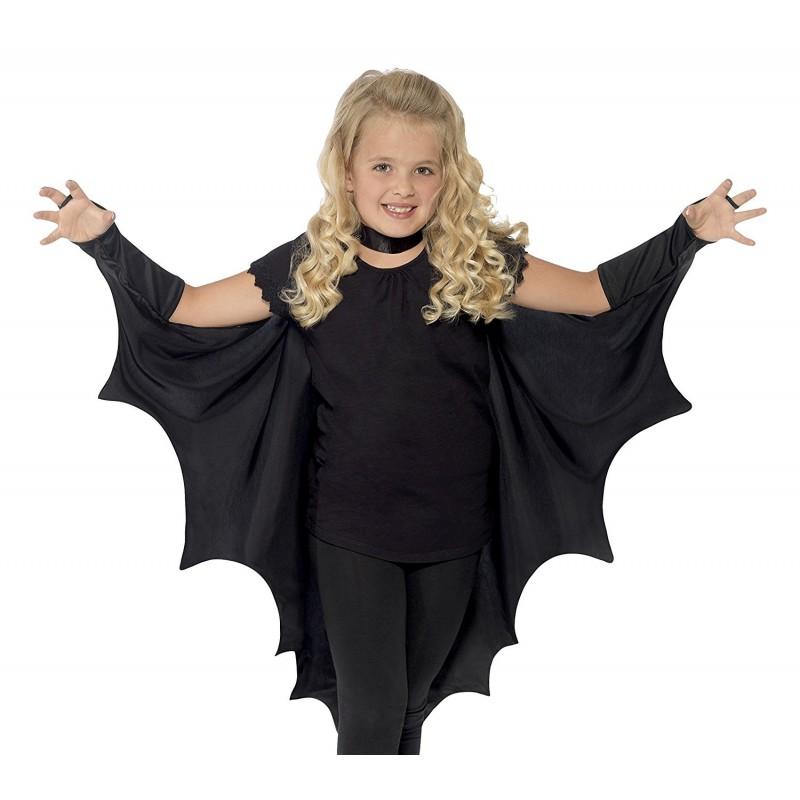 Fantasia Infantil Morcego Carnaval Festa Halloween Meninas