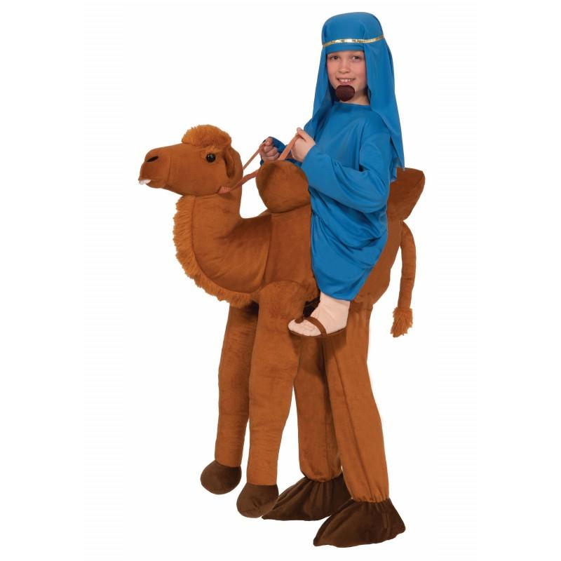 Fantasia Infantil Montado no Camelo Divertida Festa Halloween