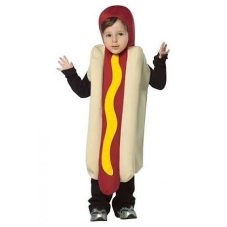 Fantasia Infantil Cachorro-Quente Salsicha Halloween
