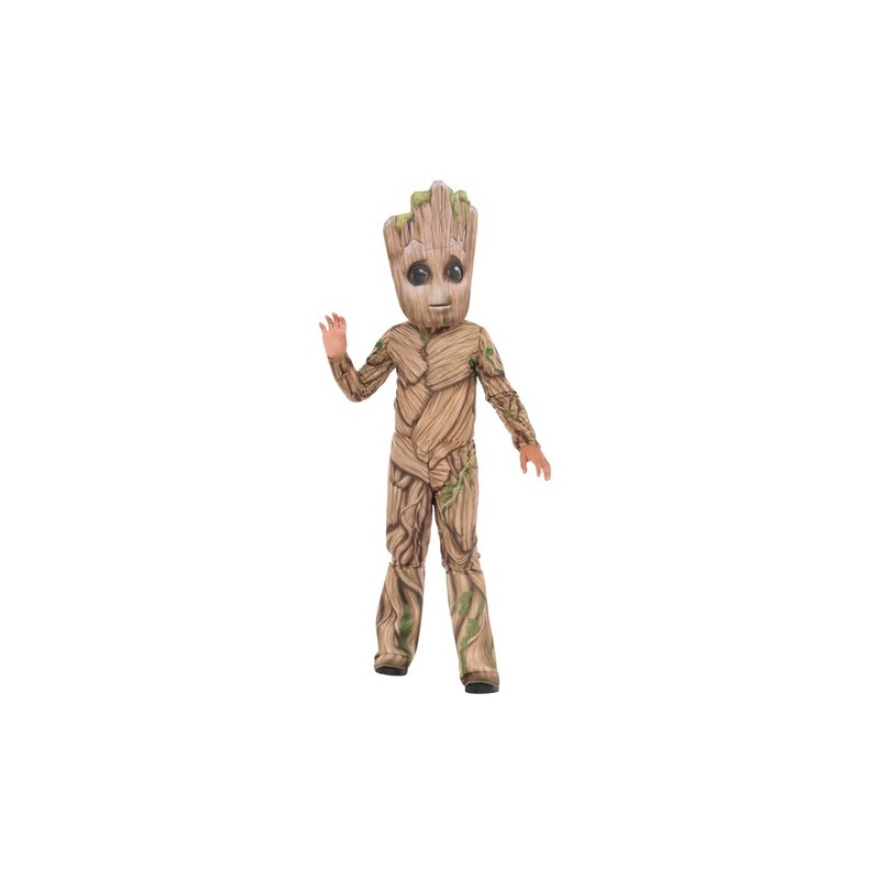 Fantasia Infantil Groot Guardiões da Galáxia Halloween Carnaval