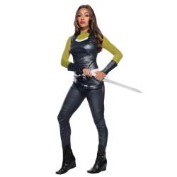 Fantasia Gamora Guardiões da Galáxia Halloween Carnaval
