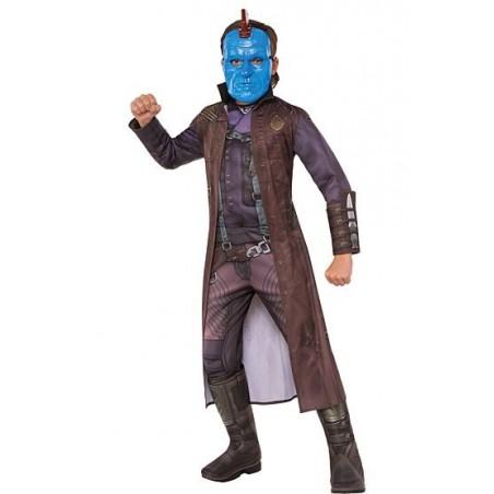 Fantasia Infantil Yondu Guardiões da Galáxia Halloween Cosplay Carnaval
