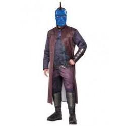 Fantasia Adulto Masculina Yondu Guardiões da Galáxia Halloween Cosplay Carnaval