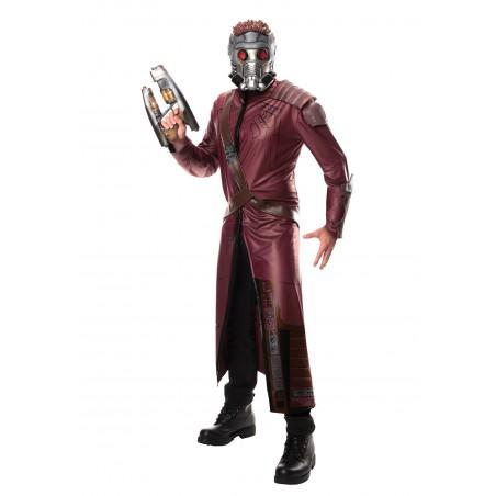 Fantasia Luxo Adulto Masculina Senhor das Estrelas Guardiões da Galáxia Halloween Cosplay