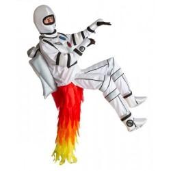Fantasia Adulto Foguete Astronauta NASA Halloween Carnaval Festa