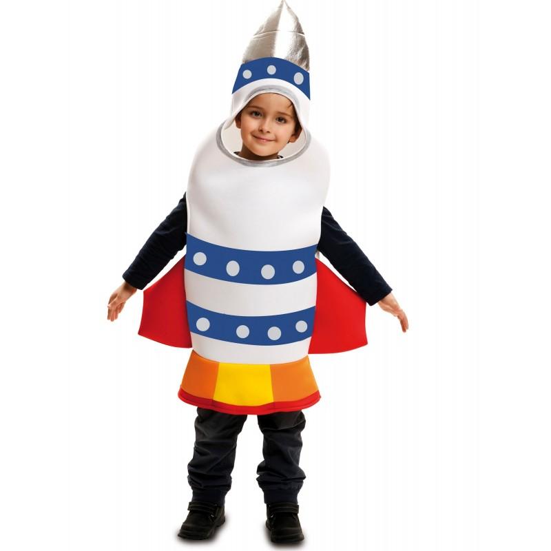 Fantasia Infantil Foguete Espacial Halloween Carnaval Festa