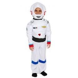 Fantasia Infantil Meninos Astronauta Halloween Carnaval